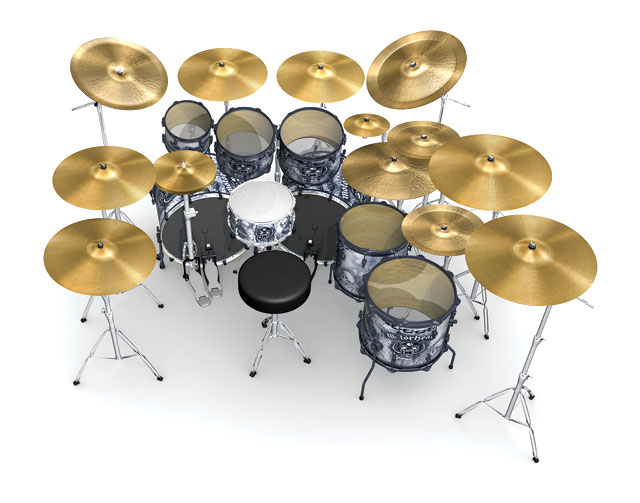 Mikkey Dee Drum Kit
