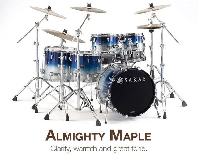 Sakae Drums Almighty Series DrumPerium