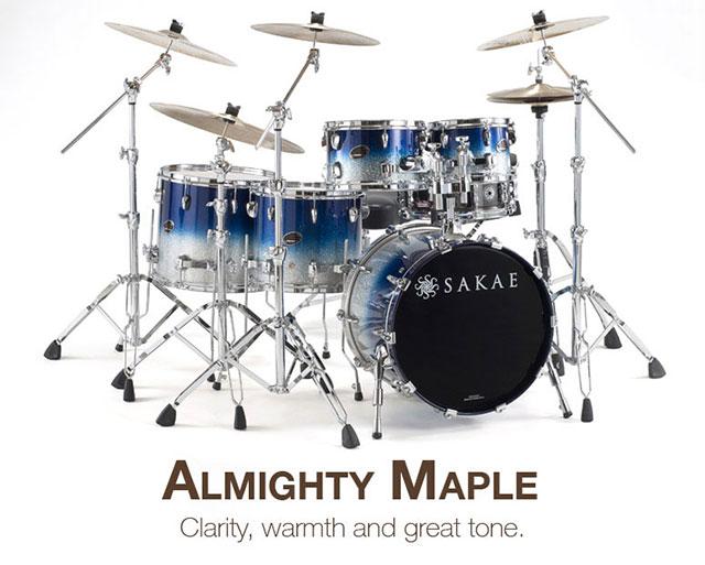 Sakae Drums Almighty Series DrumPerium