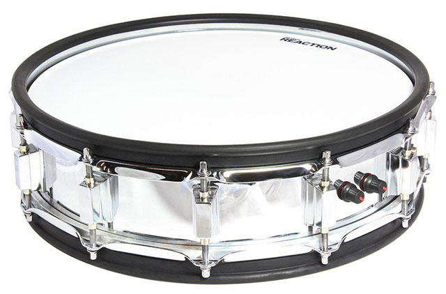 PINTECH SNARE DRUM PAD CRHOME PHOENIX 14 INCH SNARE