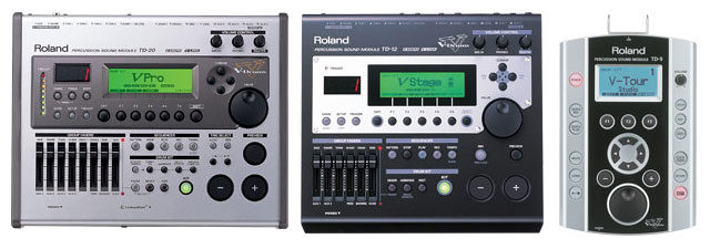 ROLAND TD-20 TD-12 TD-9 SOUND MODULES