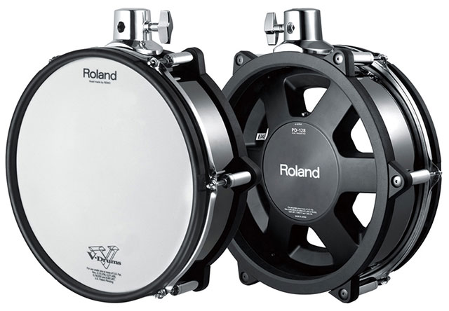 ROLAND TOM DRUM PAD PD128BC