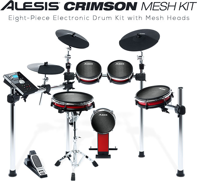ALESIS CRIMSON REVIEW CRIMSON KIT