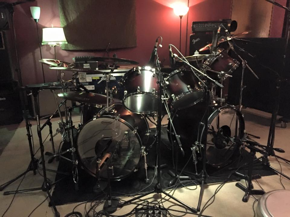 Dave Lombard Drum Kit Studio