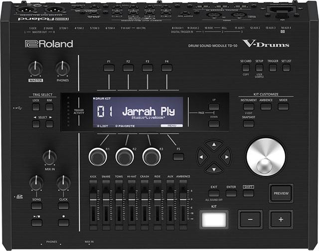 Roland TD-50KV Electronic Drum Set Module